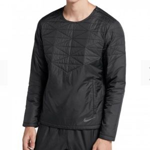 NWT Nike Fill Crew Jacket RD Black Men's